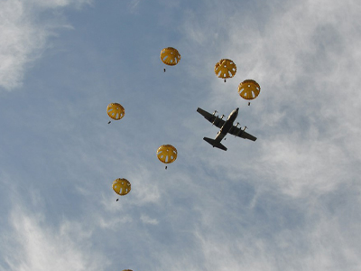 Parachute C130 Sprong